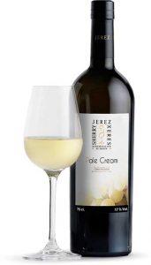 Tecnovino vinos de Jerez pale cream botella