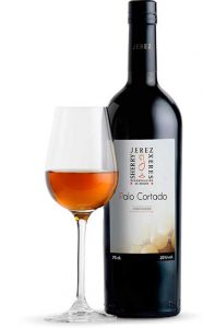 Tecnovino vinos de Jerez palo cortado botella