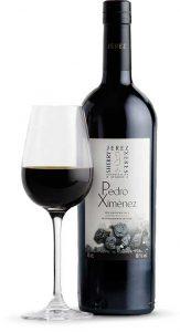 Tecnovino vinos de Jerez pedro ximenez botella