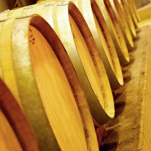 Tecnovino vinos de Valdesil barricas