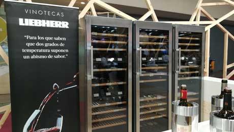 Tecnovino vinotecas de alta gama Liebherr Frigicoll 1