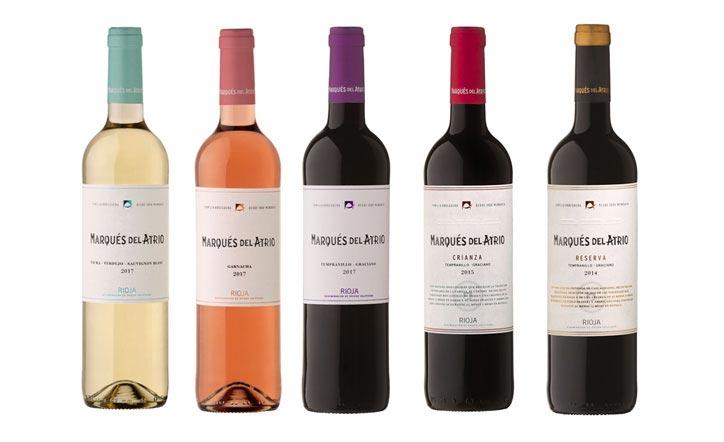 Tecnovino Marques del Atrio gama de vinos