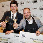 Eduardo Camiña y Diego Muñoz ganan la undécima semifinal del Mejor Sumiller Internacional en Cava