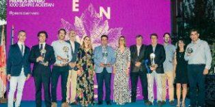 La gala de entrega de galardones puso el broche de oro a los XXI Premios Envero 2018