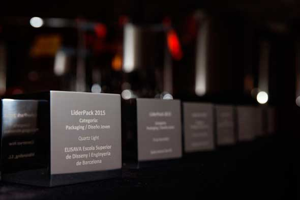 Tecnovino Premios Liderpack trofeos
