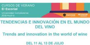 La Universidad Complutense de Madrid realizará un curso sobre tendencias e innovación en el vino