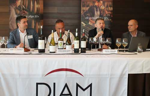 Tecnovino mercado de los vinos ecologicos jornada DIAM 1