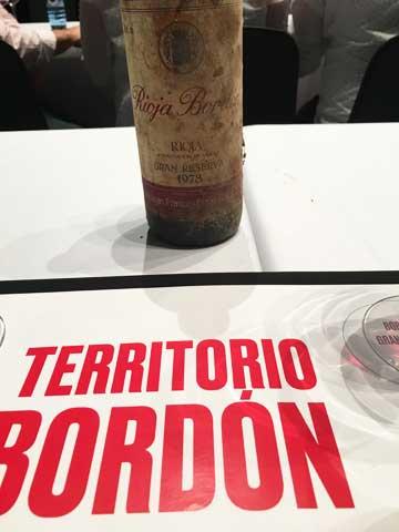 Tecnovino vino Bordon 1978 Bodegas Franco Espanolas