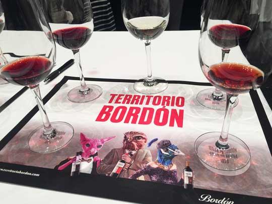 Tecnovino vino Bordon Bodegas Franco Espanolas cata 2