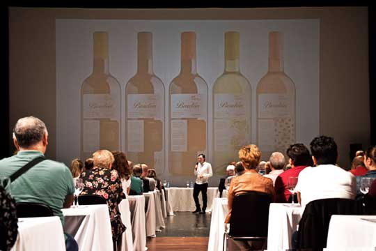 Tecnovino vino Bordon Bodegas Franco Espanolas cata Borja Eguizabal