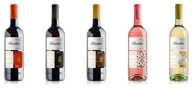 Tecnovino vino Bordon Bodegas Franco Espanolas gama