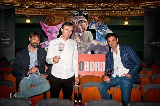 Tecnovino vino Bordon equipo directivo Bodegas Franco Espanolas cata