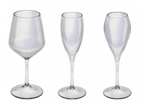 Tecnovino Klimer copas de vino irrompibles policarbonato
