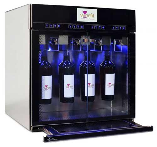 Tecnovino dispensadores de vinos por copas Exportcave DVV4
