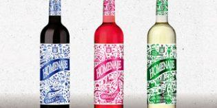 Los vinos Homenaje 2017 sacan su lado más moderno y divertido en un nuevo diseño