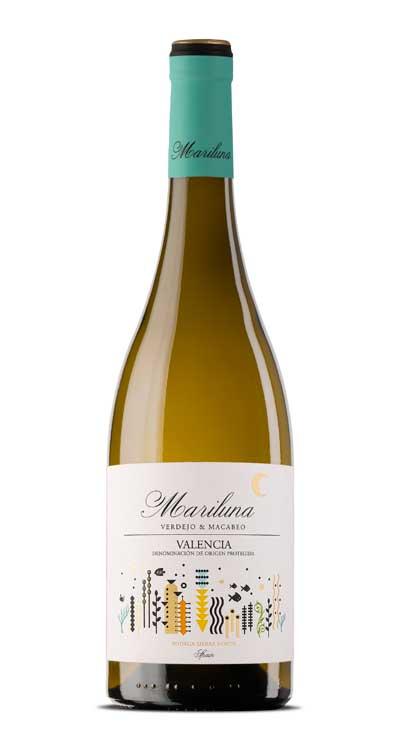 Tecnovino vinos Mariluna Blanco Sierra Norte
