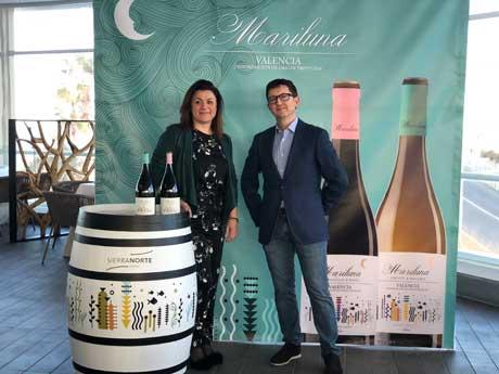 Tecnovino vinos Mariluna Blanco y Tinto Bodega Sierra Norte enólogos