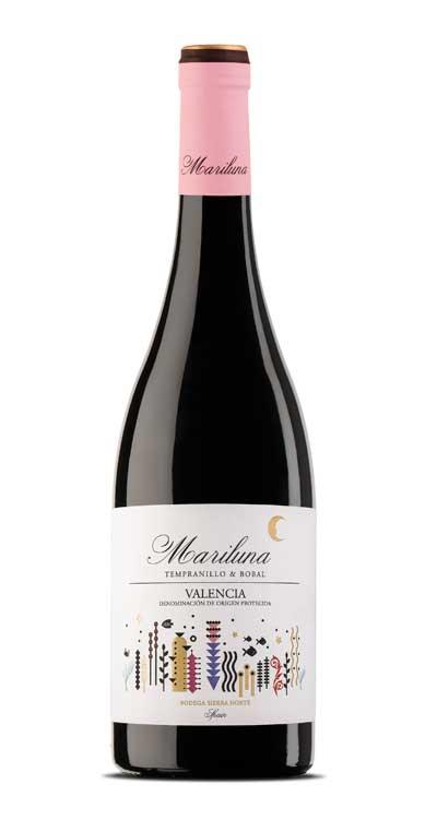 Tecnovino vinos Mariluna Tinto Bodega Sierra Norte