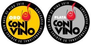 Premios ConVino 2018 entrega 12 medallas de Oro y 9 de Plata