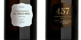 Dos cavas de la colección Ars Collecta de Codorníu Raventós lideran un ranking mundial