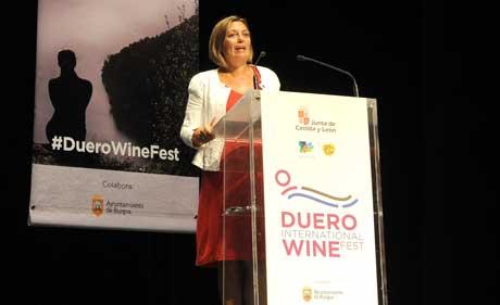 Tecnovino Duero International Wine Fest Milagros Marcos