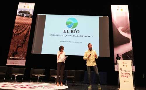 Tecnovino Duero International Wine Fest marca de vino rios