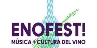 Enofestival 2018 volverá a acercar la cultura del vino a los jóvenes a través de la música