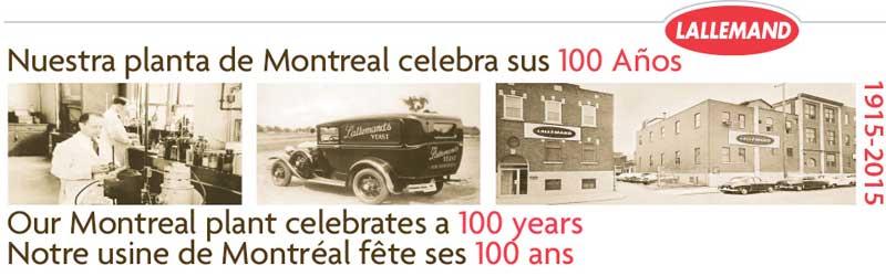 Tecnovino Lallemand 100 aniversario Montreal
