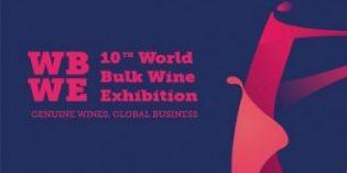WBWE 2018, la mayor cita del mundo con el vino a granel prepara su décima edición