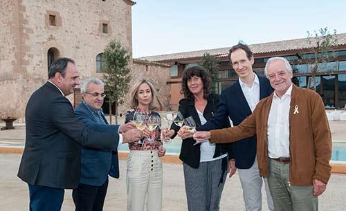 Tecnovino vino Purgatori bodega Familia Torres inauguracion