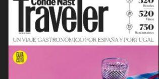 Nueva Guía Condé Nast Traveler de Restaurantes, Hoteles y Vinos 2019 de España y Portugal