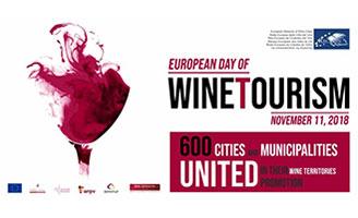 Tecnovino Dia Europeo del Enoturismo 2018 cartel celebracion