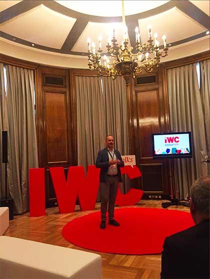 Tecnovino IWC Talks reflexiones sobre el vino enologo de Bodegas Izaguirre