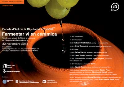 Tecnovino Jornada fermentar vino en ceramica