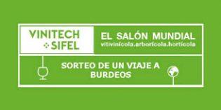 Sorteo de dos noches de estancia para asistir a Vinitech Sifel 2018