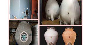 Más allá del acero inoxidable para los depósitos de vino: hormigón, piedra, cocciopesto…