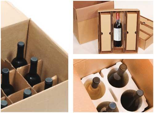 Tecnovino envio de vino de UPS a Estados Unidos 2 packaging para vino