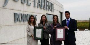 Bodegas José Pariente certificada por AENOR en su compromiso con la calidad y la excelencia