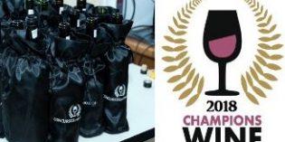 Teatinos Claros de Cuba 2014, ganador absoluto de Champions Wine 2018
