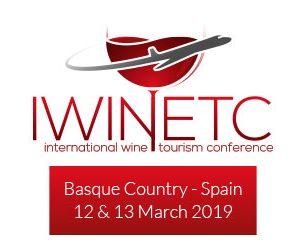 Tecnovino logo del Congreso Internacional de Enoturismo 2019 IWINETC