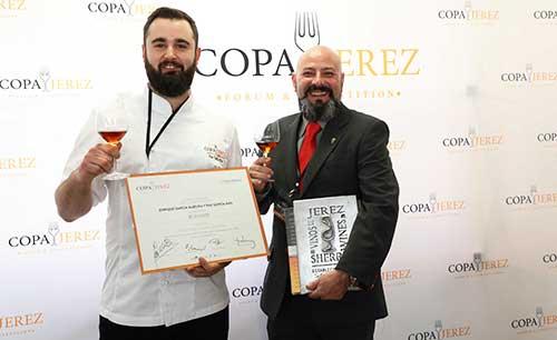 Tecnovino Copa Jerez 2019 representacion España integrantes del restaurante BonAmb 1