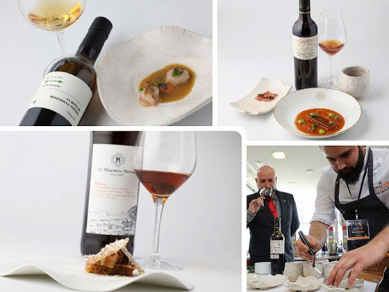 Tecnovino Copa Jerez 2019 representacion España platos y maridaje del restaurante BonAmb 1