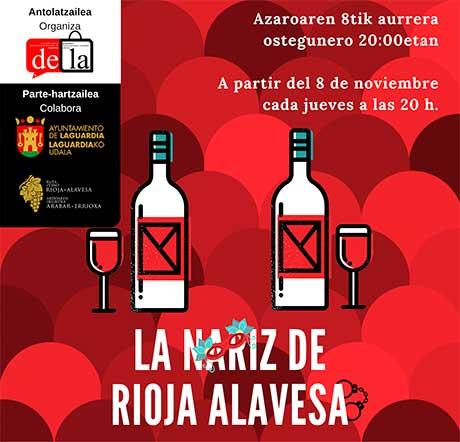 Tecnovino La Nariz de Rioja Alavesa 2018