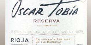 Bodegas Tobía presenta Óscar Tobía Reserva 2014: su vino más redondo, atrevido y de largo recorrido