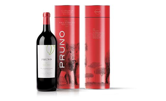 Tecnovino vino Pruno 2017 Finca Villacreces