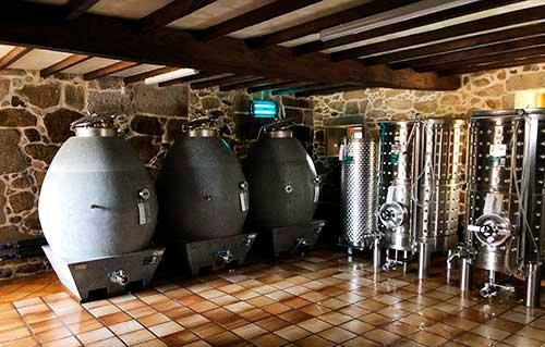 Tecnovino vino de granito Familia Torres Pazo Torre Penelas 1