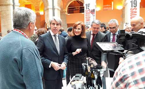 Tecnovino Salon de los vinos de Madrid y Ayuntamientoto Cadalso 1