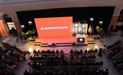 Tecnovino entrega al Mejor Vino de Espana 2018 Premios Alimentos de Espana
