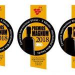 Los Premios Magnum 2018 concedieron 3 medallas Gran Oro, 17 de Oro y 4 de Plata