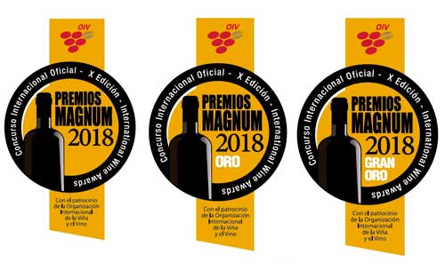Tecnovino medallas Premios Magnum
